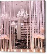 Paris Repetto Ballerina Tutu Shop - Paris Ballerina Dresses Window Display  Canvas Print