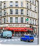Paris Resturante Canvas Print