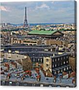 Paris Rooftops Canvas Print