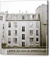 Solitude In Paris Canvas Print