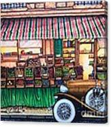 Paris Street Market Canvas Print