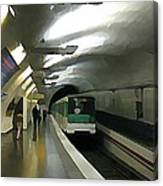 Paris Subway  Canvas Print