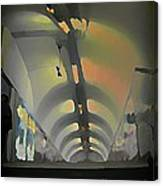 Paris Subway Tunnel Canvas Print