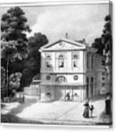 Paris Theatre Royal Canvas Print
