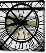 Paris Time Canvas Print