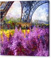 Paris Tour Eiffel 01 Canvas Print