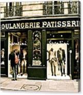 Paris Waiting Canvas Print