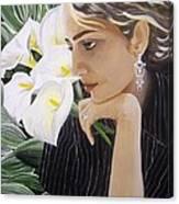 Parisa Canvas Print