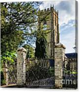 Parish Church Of St Candida And Holy Cross Canvas Print
