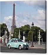Parisian Charm Canvas Print