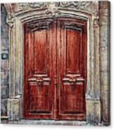 Parisian Door No. 8 Canvas Print