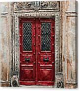 Parisian Door No.82 Canvas Print