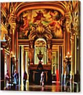 Parisian Opera House Canvas Print