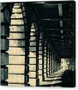 Parisian Rail Arches Canvas Print