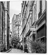 Parisian Street Canvas Print