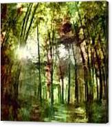 Park Art V Canvas Print
