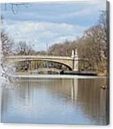 Park Avenue Bridge Canvas Print