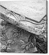 Park Bench 1 Canvas Print
