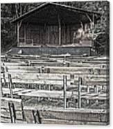 Park Pavilion Stage Canvas Print