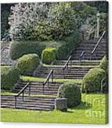 Park Stairs Canvas Print
