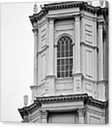 Park Street Church Boston Canvas Print