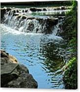 Park Waterfall Canvas Print