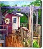 Parker Pie In West Glover Vt Canvas Print