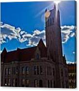 Parkersburg Courthouse Canvas Print