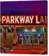 Parkway Lanes Canvas Print