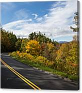 Parkway Milepost 357 Canvas Print