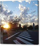 Parkway Sunset Canvas Print