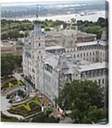 Parlament Quebec  Canvas Print
