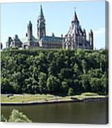 Parliament Hill - Ottawa Canvas Print
