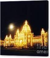 Parliment Building Victoria Canvas Print