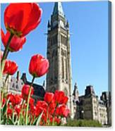 Parliament Hill, Ottawa Canvas Print