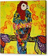 Parrot Oshun Canvas Print