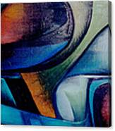 Part Of An Abstract Painting Canvas Print