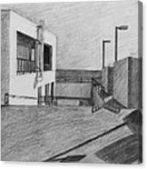 Part Of School Building Canvas Print