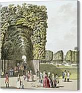 Part Of The Garden At Ausgarten Canvas Print
