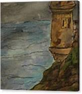 Parte Del Morro Canvas Print