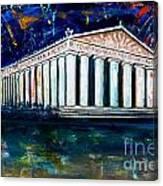 Parthenon - Nashville Canvas Print