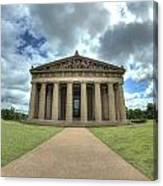 Parthenon Canvas Print