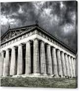 Parthenon Of Nashville Canvas Print
