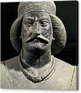Parthian Warrior From Shami. 1st C Canvas Print