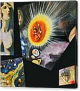 Parts Of Universe Canvas Print