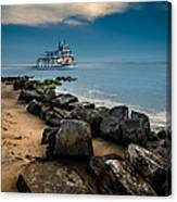 Party Cruise Canvas Print