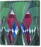 Party Glasses Canvas Print