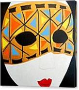 Party Mask Canvas Print
