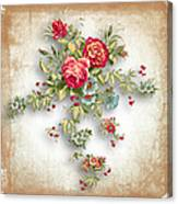 Party Of Roses  Canvas Print