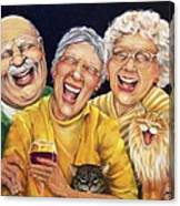 Party Pooper Canvas Print
